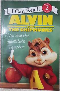 I Can Read Level 2 Alvin and the Chipmunks Alvin and the Substitute Teacher
