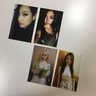 f(x) Red Light 方角小卡