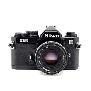 Nikon FM2 Film SLR Camera