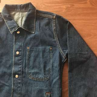 Custom Denim Coach Jacket