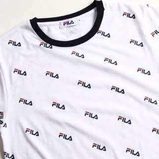 日版Fila Logo Tee