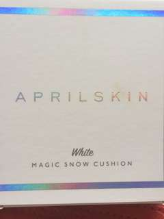 🚚 Aprilskin magic snow cushion white 22