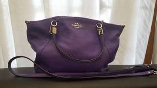 Purple Coach Bag (ORIGINAL)