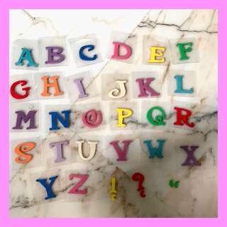 Foam Alphabet Stamp Set