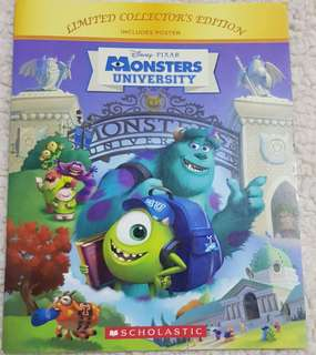 Disney Pixar Monsters University Scholastic