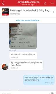 Testi Cust Today 💞💞🙏🏻