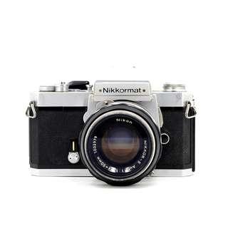 Nikon Nikkormat SLR Camera