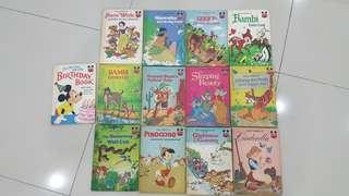 [Free Postage]Walt's Disney fairy tales books(13books)