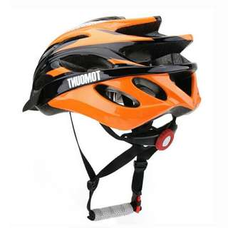 🚚 🆕! Lightweight MTB Orange / Black Cycling Helmet   #OK