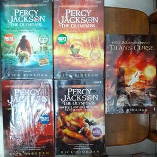 Percy Jackson The Olympians Series (Terjemahan)