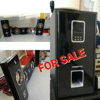 Speaker and Amplifier Prestiz brand