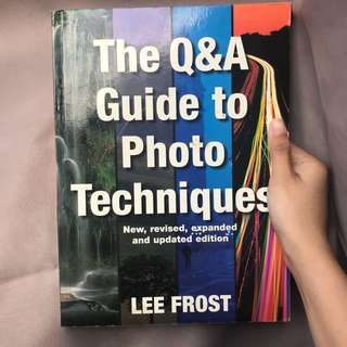 Q&A GUIDE 2 PHOTO TECHNIQUES