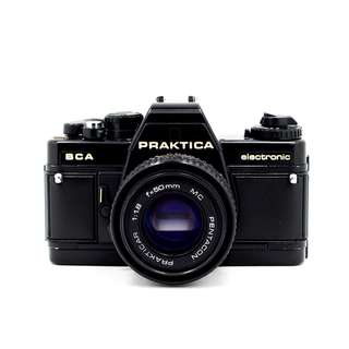 Praktica BCA Film SLR Camera