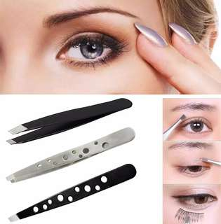 Stainless Eyebrow Tweezer