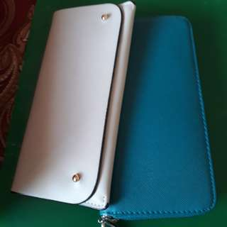 Blue n Gray wallet 2 for 195.00