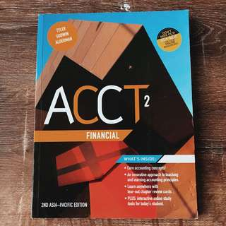 ACCT ACCOUNTING 2ND EDITION