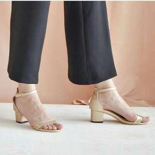 Premium buckle heels