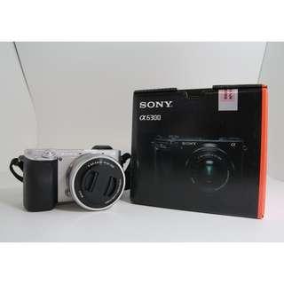 Sony a6300 16-50mm kit ( Godox TT600 free gift ) 1 month used