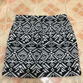 Tribal skirt by h&m