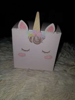 Unicorn gifts box. $1 per pc.