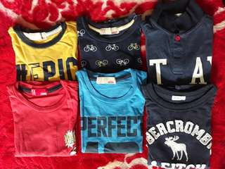 :: Preloved Tshirt Combo RM30