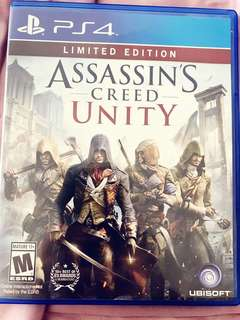 Assassin Creed PS4 game