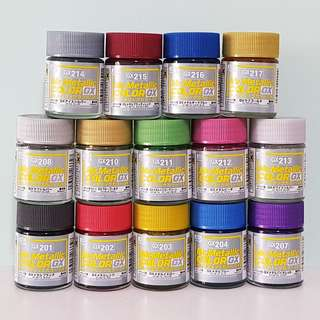 Mr Metallic Color GX series (18ml) Lacquer