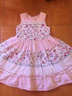 Casual Pink dress for kids