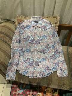 Zara Floral / Batik Shirt