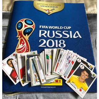 [2018 FIFA World Cup Russia] Panini Official Sticker Collection (Updated List 25/06)