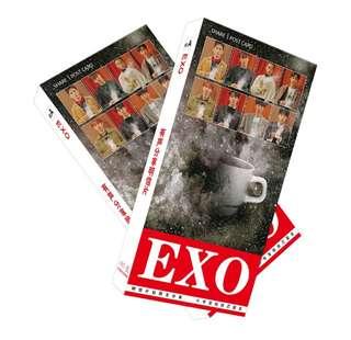 EXO 180 PCS COLLECTIVE POSTCARDS