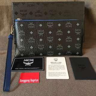 Authentic MCM Wristlet Wallet
