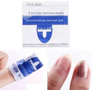 🚚 Disposable nail polish remover
