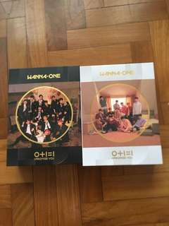 [WANNA ONE] I Promise You Albums - Day + Night