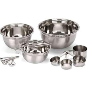 12PC-mix-bowl-measuring-cup-measuring-spoon-mixing-bowl  stainless
