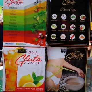 Gluta Lipo Juice and Coffee