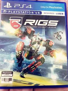 Rigs Combat VR Game