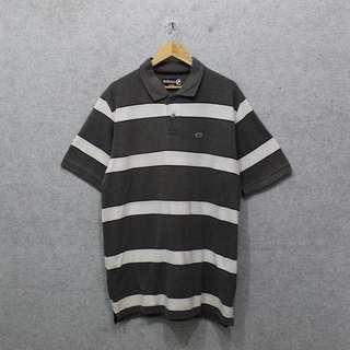 ECKO UNLTD Stripe Poloshirt -Size: L fit XL