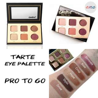 BN Tarte Pro To Go Eye Eyeshadow Palette Travel Friendly