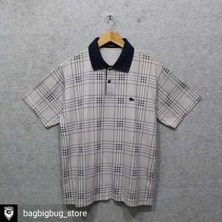 BURBRRRY Stripe Poloshirt -Size: M