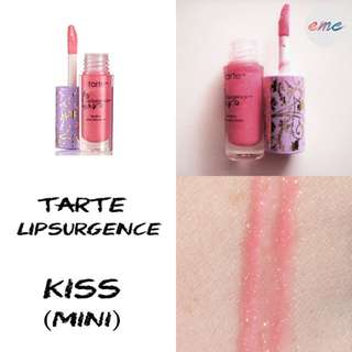 BN Tarte Lipsurgence Lip Gloss Mini - Kiss