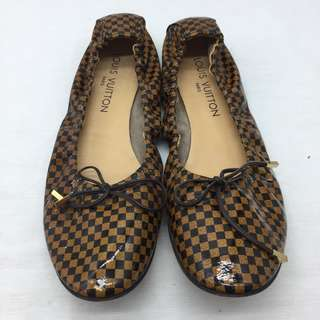 ** LV loafers