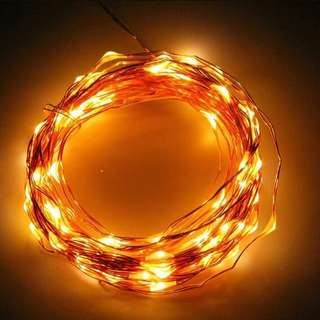 Fairylight-led copper string