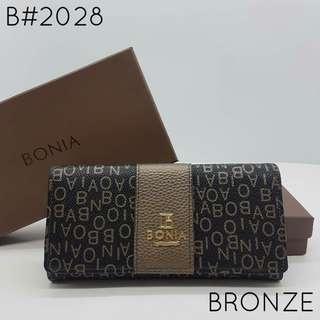 Bonia Purse Bronze Color