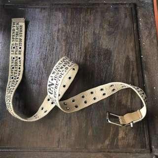 Unkown Branded Belt