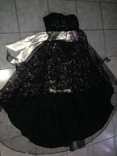 Long back Gown