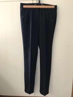 🚚 二手老爺西裝褲錐型褲打摺褲mihara花猴推薦