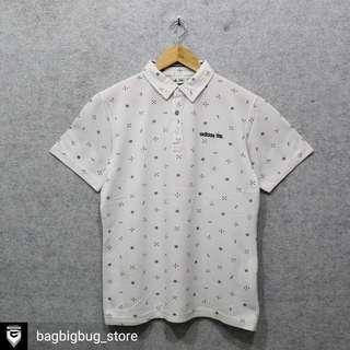 ADIDAS Printed Poloshirt -Size: M