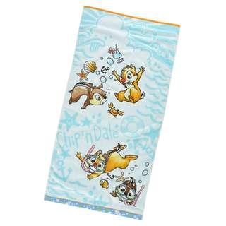 日本 Disney Store 直送 Chip n Dale 鋼牙大鼻潛水系列大毛巾 / 沙灘毛巾