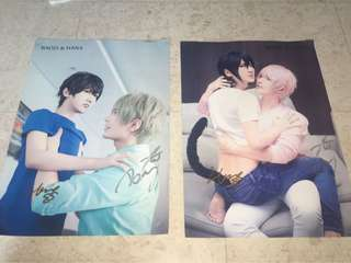 Hana and Baozi Posters (SIGNED!!)
